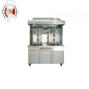 S/steel gas shawerma machine