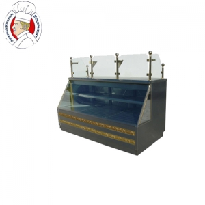 Stainless steel cafeteria chiller