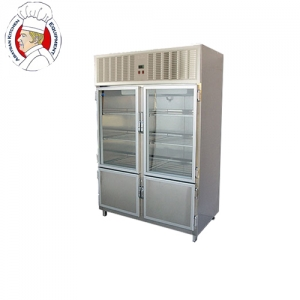 Double upright  meat chiller