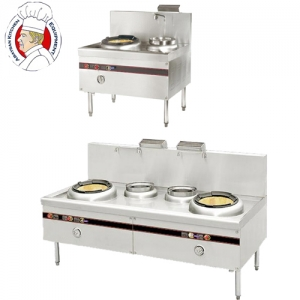 Stainless steel chinese cooker